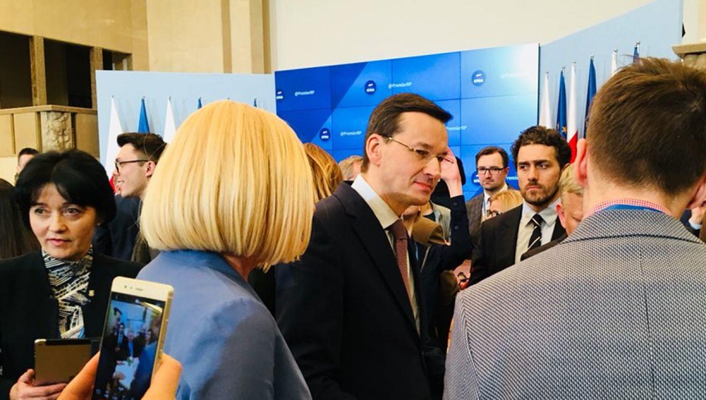#TweetupKPRM  z udziałem premiera Mateusza Morawieckiego (fot.KPRM)