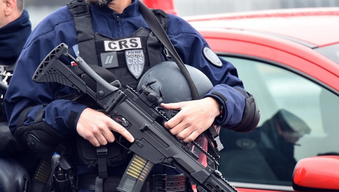 Na obrzeżach miejscowości Orange na południu Francji interweniowali antyterroryści (fot.  Mustafa Yalcin/Anadolu Agency/Getty Images)