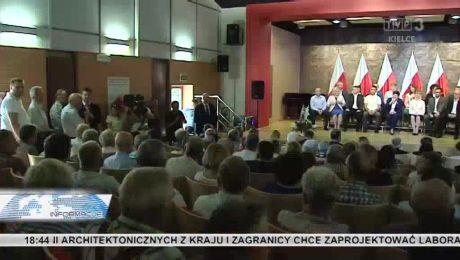 Polska jest jedna. Czołowi politycy PiS znów przyjadą w Świętokrzyskie