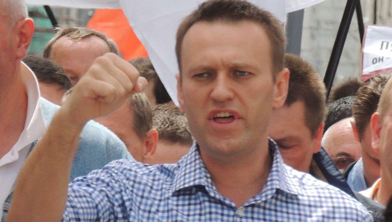 Aleksiej Nawalny wyszedł w niedzielę rano na wolność (fot. Bogomolov.PL)