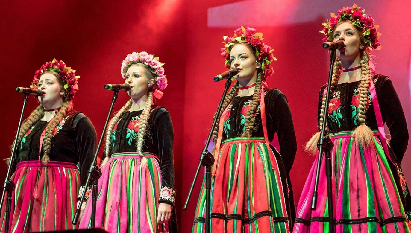 Tulia to żeńska grupa ze Szczecina, którą tworzą cztery wokalistki: Joanna Sinkiewicz, Dominika Siepka, Patrycja Nowicka i Tulia Biczak (fot. arch. PAP/Tytus Żmijewski)