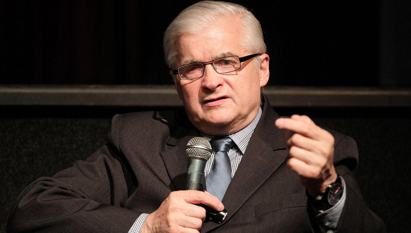 Włodzimierz Cimoszewicz za nierozwiązany uważa problemem reprywatyzacji i zwrotu mienia ofiar Holokaustu (fot. PAP/Paweł Supernak)
