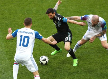 Mundial 2018. Nieudany początek Argentyny [GALERIA]