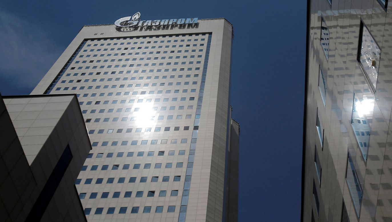 Siedziba główna Gazpromu w Moskwie (fot. REUTERS/Maxim Shemetov)
