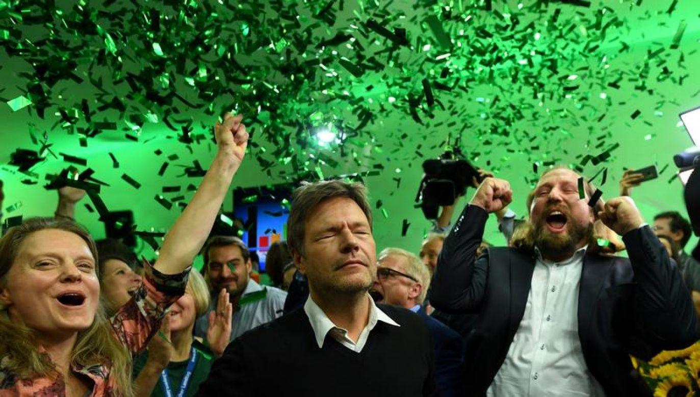 Drugie miejsce przypadło Zielonym (fot. REUTERS/Andreas Gebert)