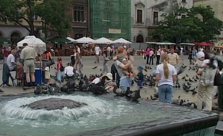 Kiedyś fontanna zdobiła krakowski rynek