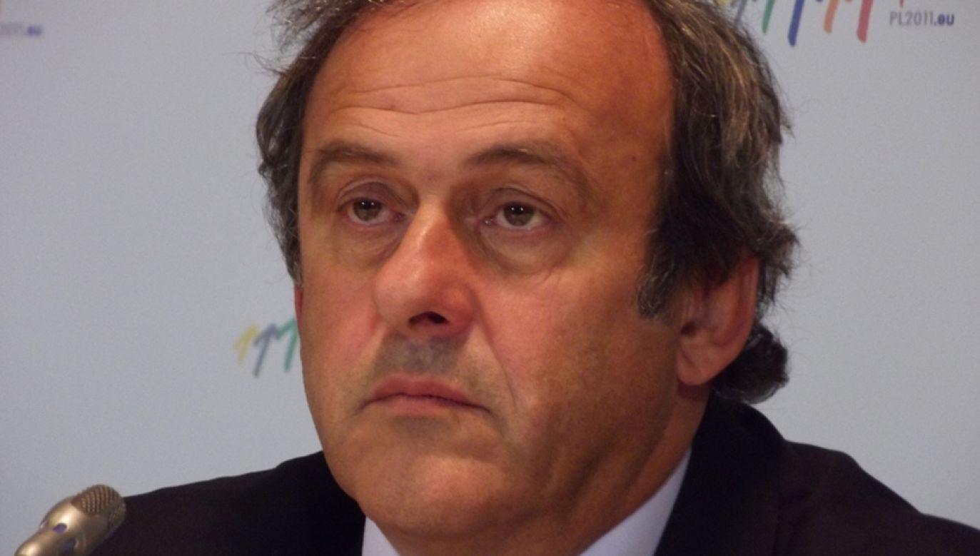 Michel Platini (fot. Wikimedia Commons/Piotr Drabik)