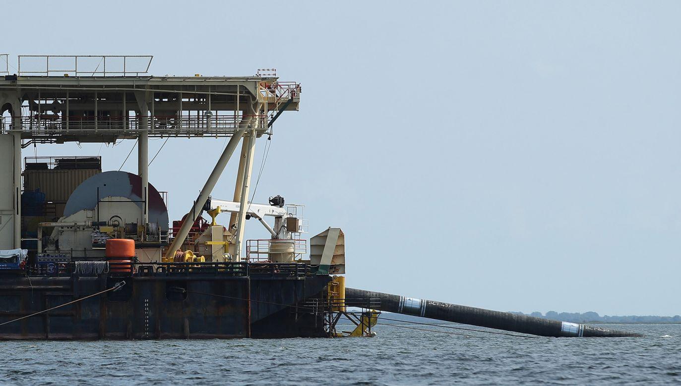 USA sprzeciwiają się otwarciu drugiego gazociągu z Rosji do Niemiec po dnie Bałtyku (fot.  Sean Gallup/Getty Images)
