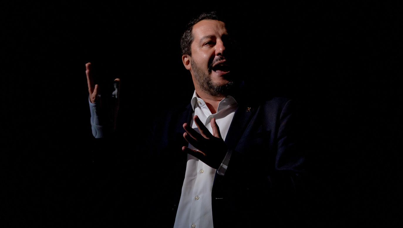 Matteo Salvini, październik 2018 r. Fot. Stefano Montesi - Corbis/Getty Images