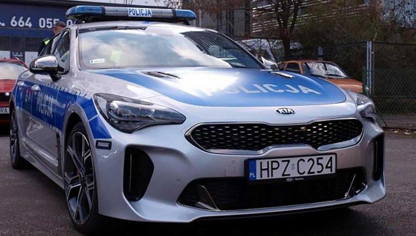 Grupa SPEED dysponuje sportowymi radiowozami (fot. policja.pl)