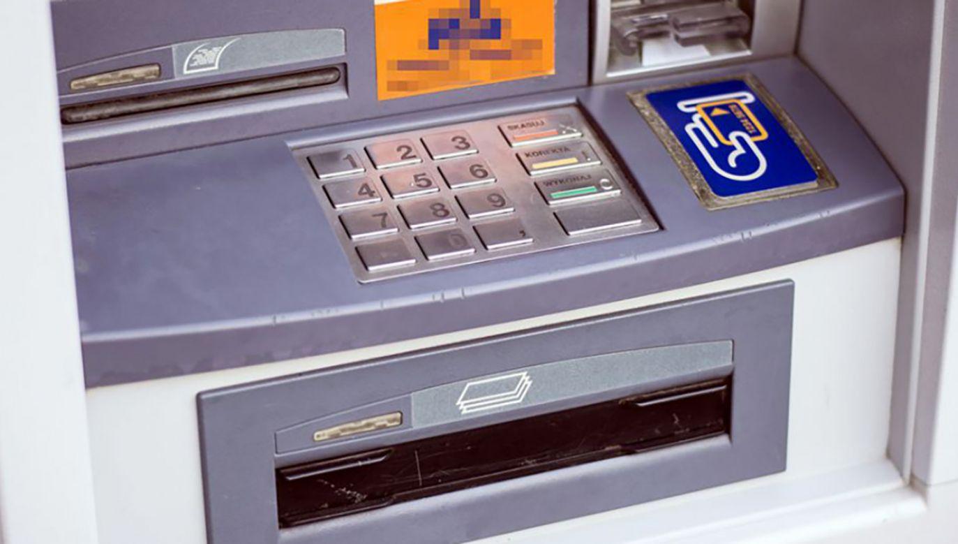 Bankomat został wysadzony (fot. Shutterstock)
