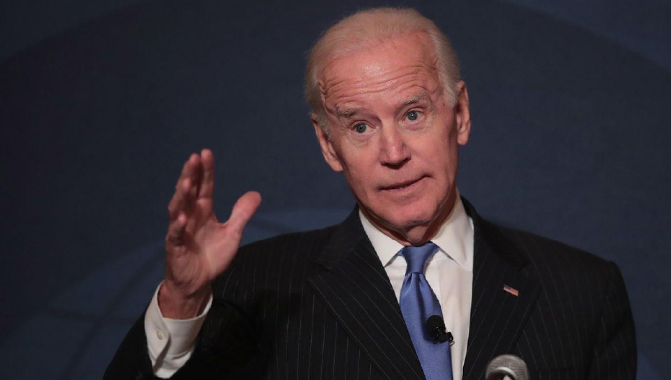Joe Biden (fot. Scott Olson/Getty Images)