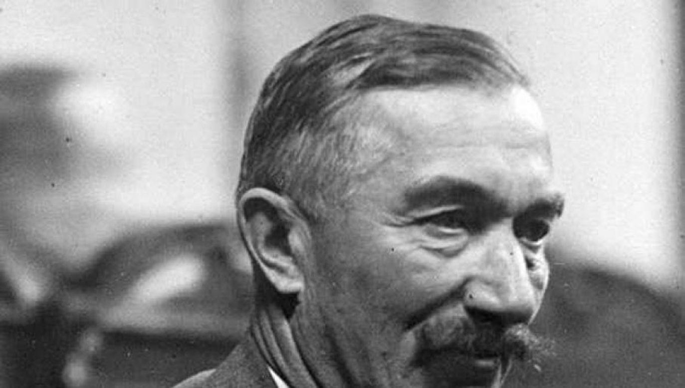 Były trzykrotny premier Wincenty Witos (Fot. PAP/CAF)