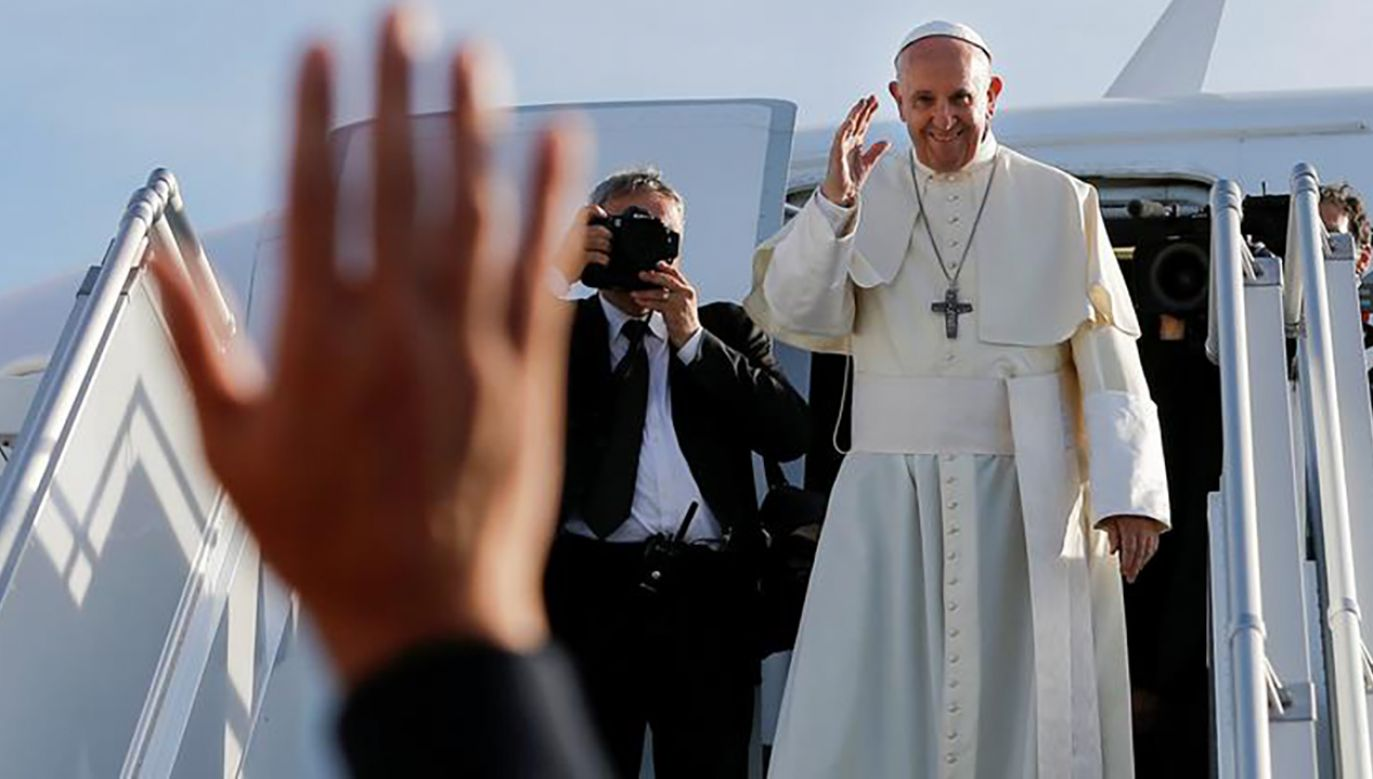 Papież Franciszek (fot. Peter Klaunzer/Pool via REUTERS)