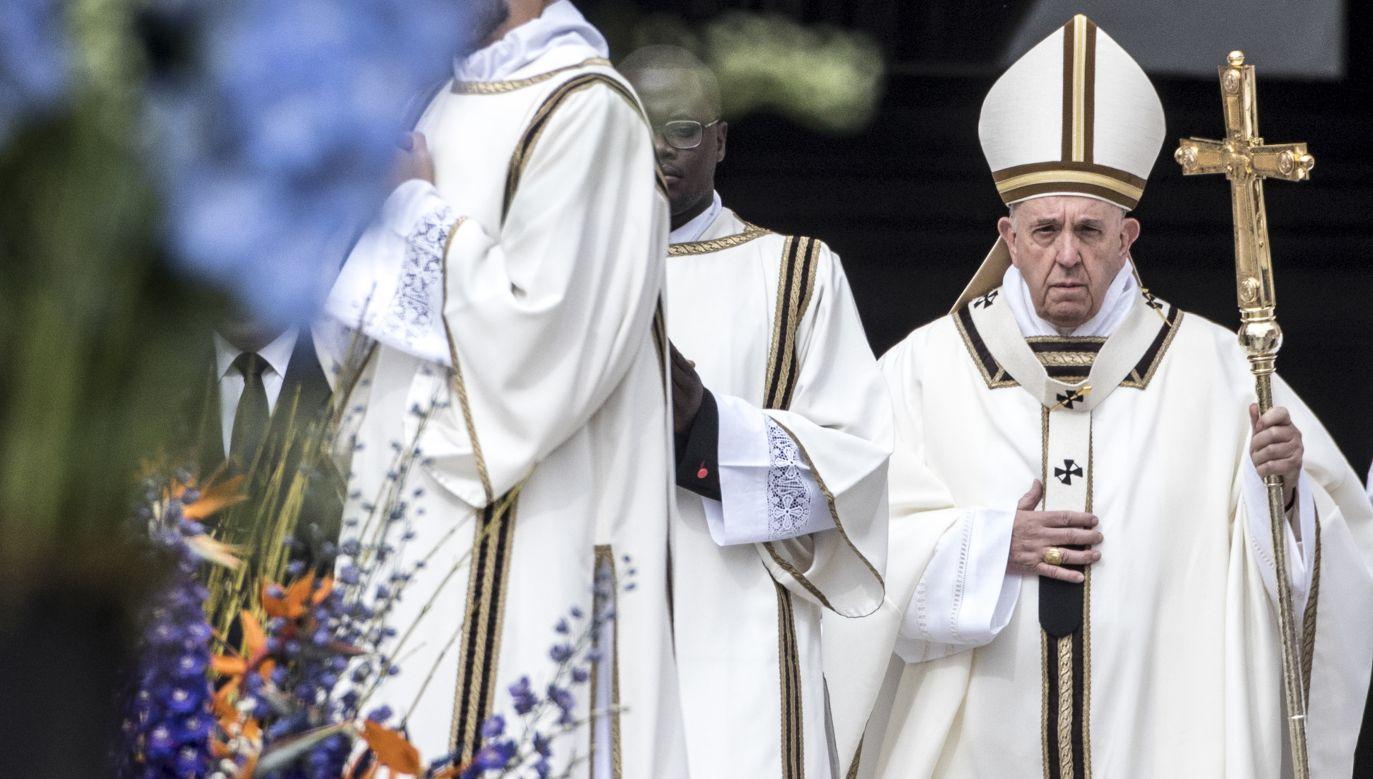 Papież Franciszek (fot. Alessandra Benedetti-Corbis/Corbis News/GettyImages)