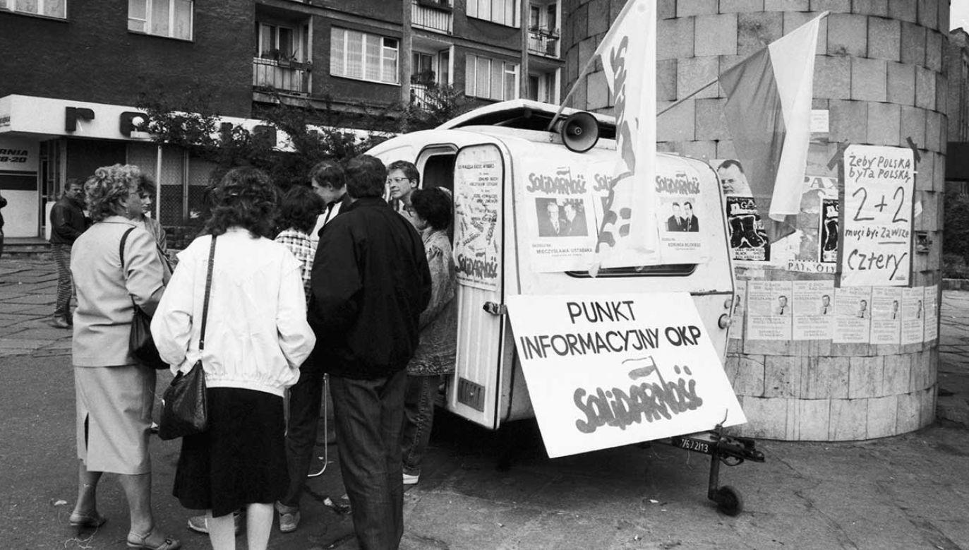 W 2019 r. przypada 30. rocznica wyborów czerwcowych (fot. arch. PAP/Jerzy Undro)