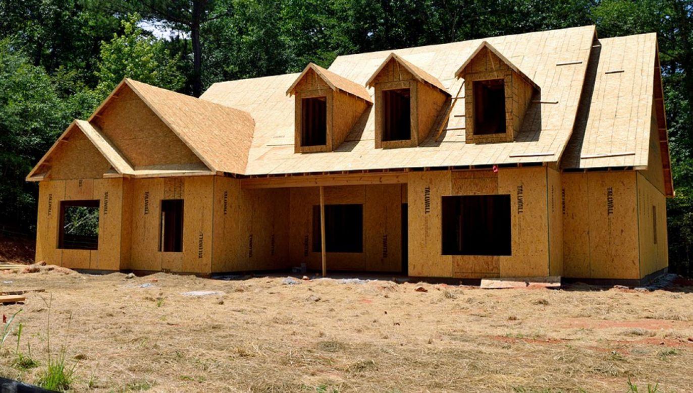 Wiele polskich firm produkuje domy z drewna, ale głównie na eksport (fot. Pexels)