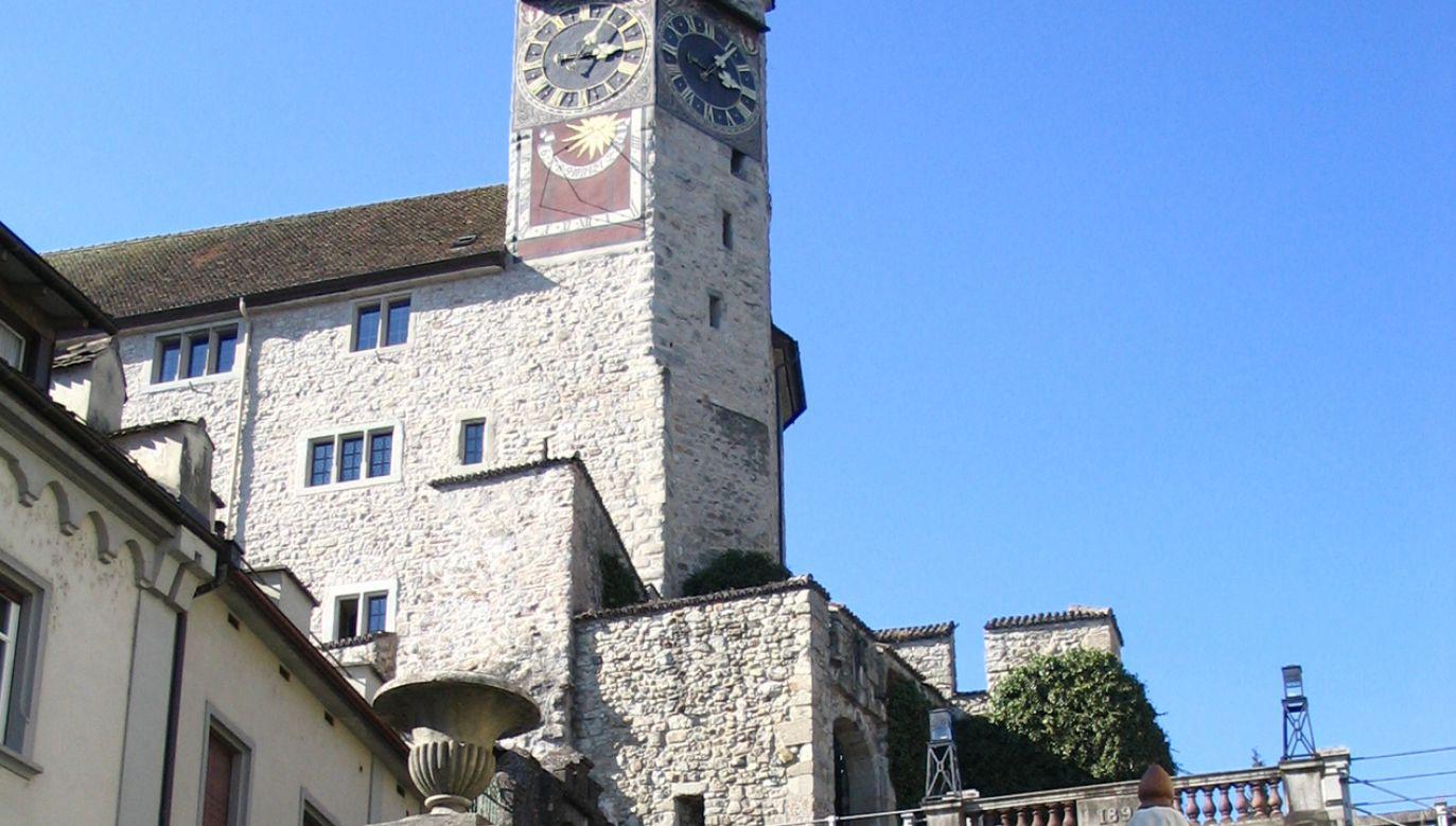 Muzeum Polskie mieści się na zamku będącym własnością gminy Rapperswil-Jona (fot. Wikimedia Commons/Javier Carro)