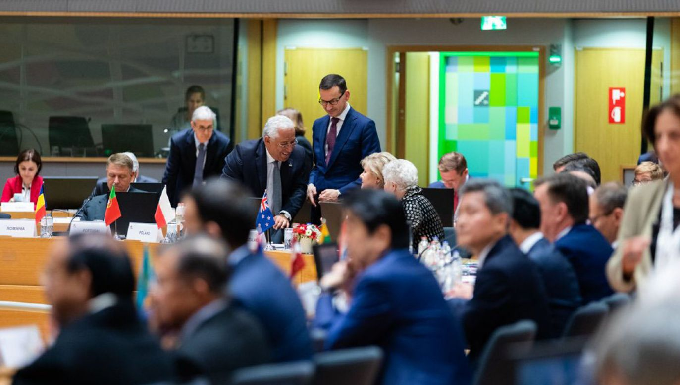 Spotkanie w formacie Azja-Europa, rozpoczęło się w czwartek i potrwa do piątku (fot. TT/@PremierRP)