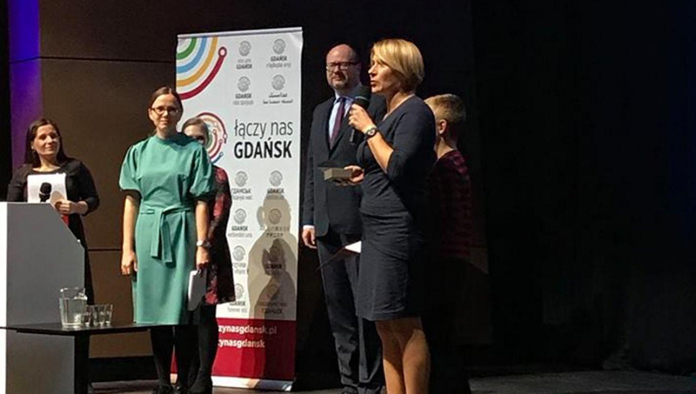 Adamowicz nagrodził sędzię za sprzeciw wobec reformy sądownictwa (fot. TT/Paweł Adamowicz)