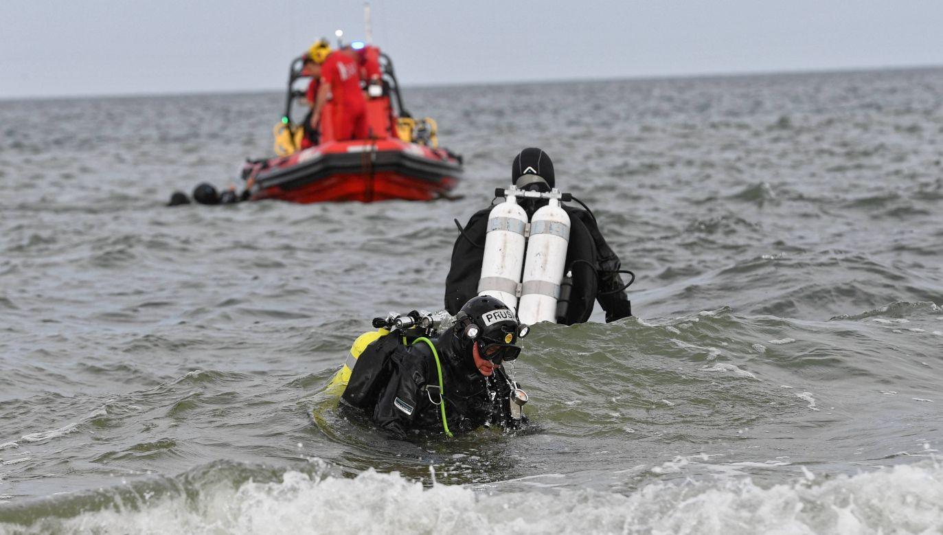To najprawdopodobniej ciało zaginionego 13-latka. Potwierdzić ma to koszalińska prokuratura (fot. PAP/Marcin Bielecki)
