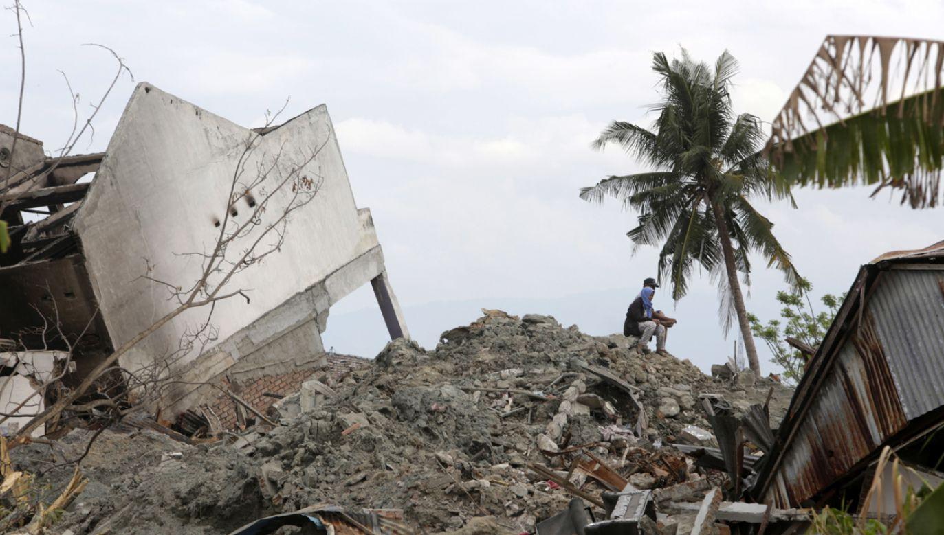 Trzęsienie ziemi na Sulawesi spowodowało ogromne zniszczenia (fot. PAP/EPA/HOTLI SIMANJUNTAK)