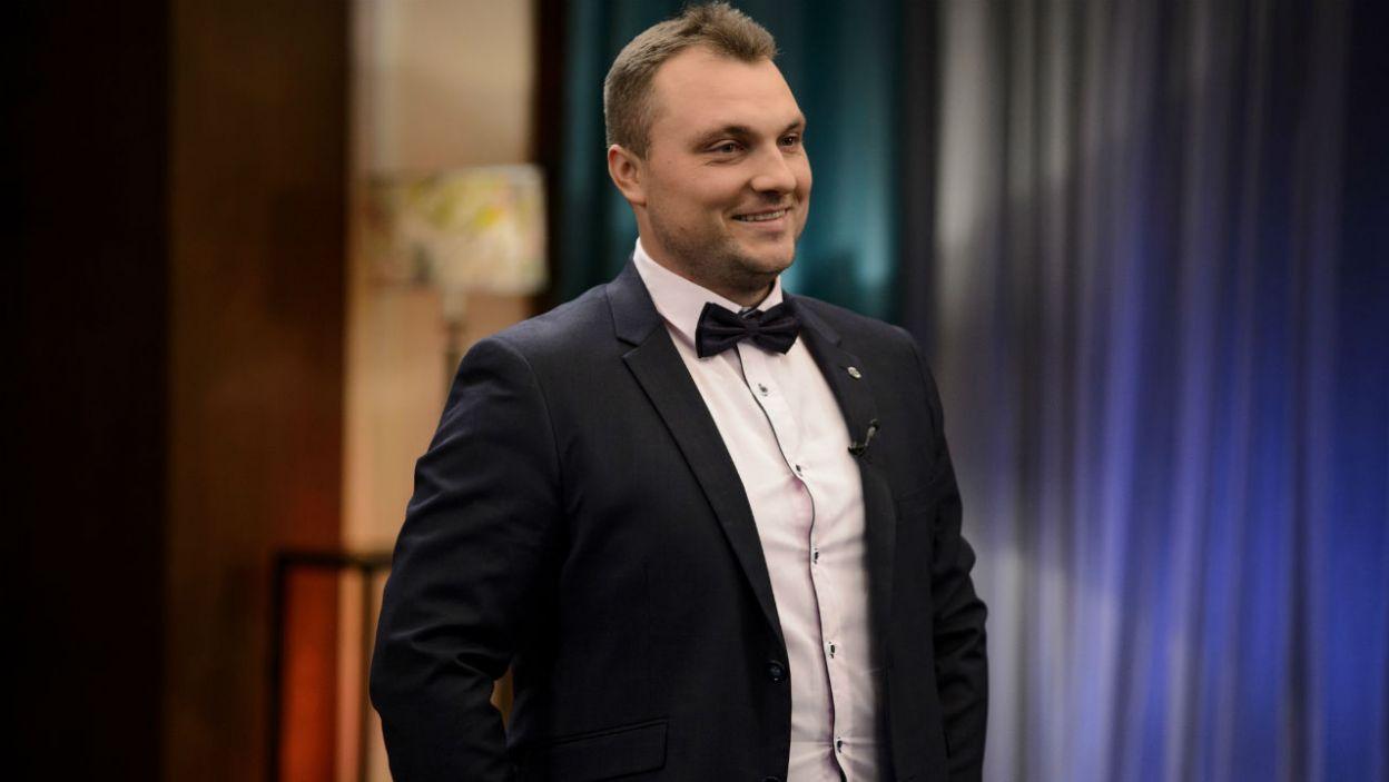 Grzegorz także w programie poznał kobietę, przy której serce zaczyna mu mocniej bić (fot. TVP)