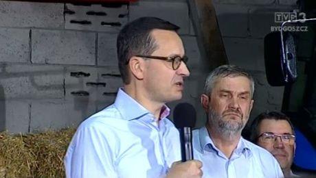 O planie dla wsi mówili w Głogowie Mateusz Morawiecki i Jan Krzysztof Ardanowski