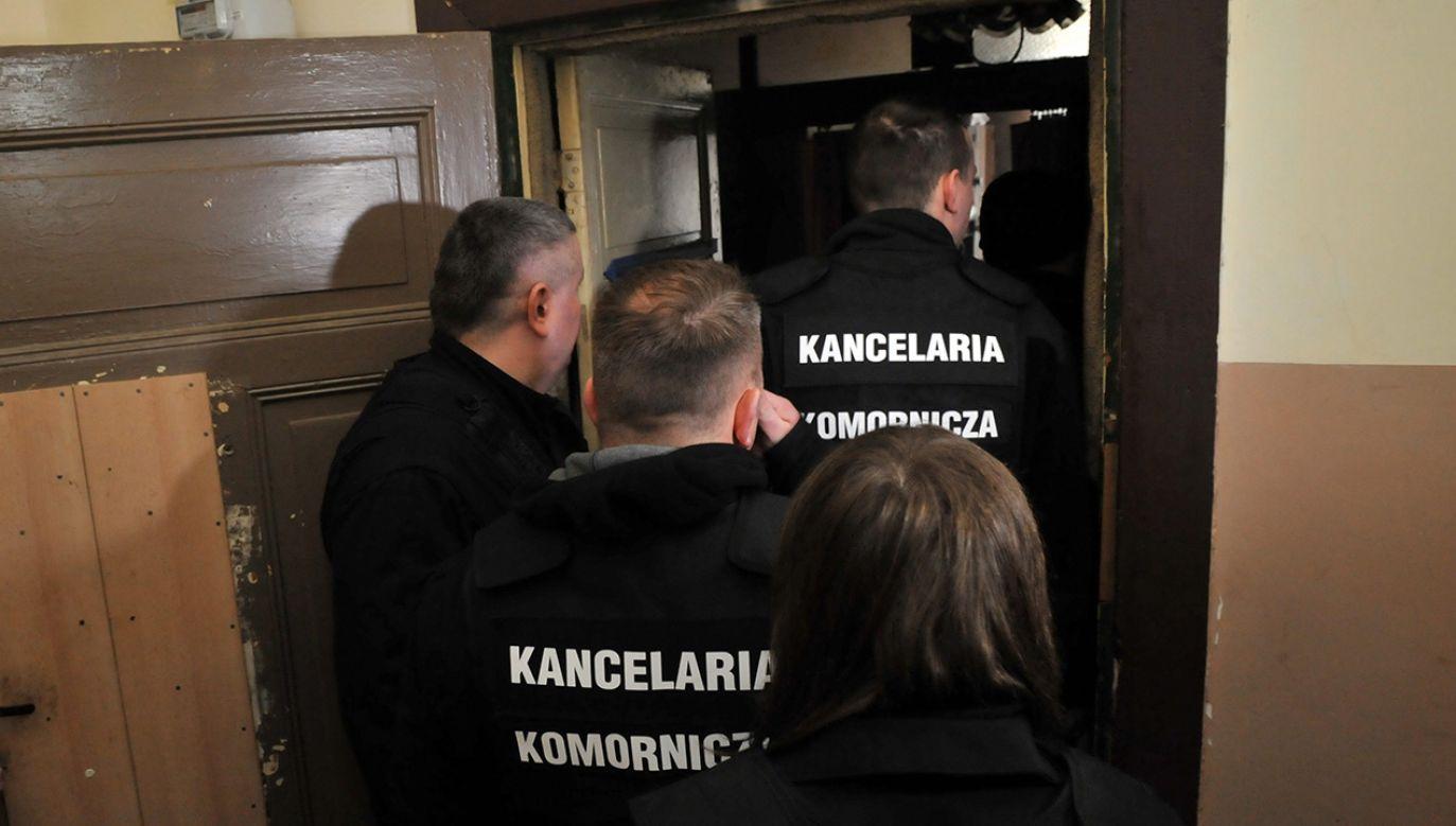 Firmy antywindykacyjne zapewniają, że mogą zablokować komorniczą egzekucję (fot. arch.  PAP/Marcin Bielecki)