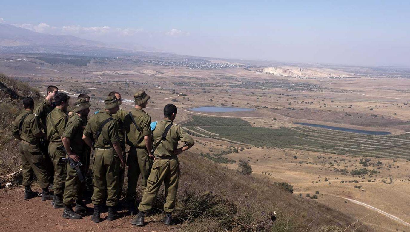 Izrael opanował Wzgórza Golan 52 lata temu. ONZ nadal uważa je za terytorium okupowane (fot. Lior Mizrahi/Getty Images)