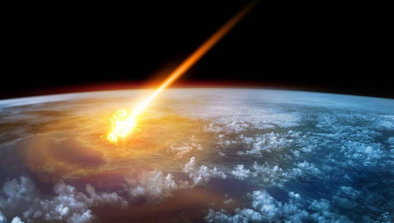 Asteroida eksplodowała z siłą 173 kiloton (fot. TT/New Scientis)