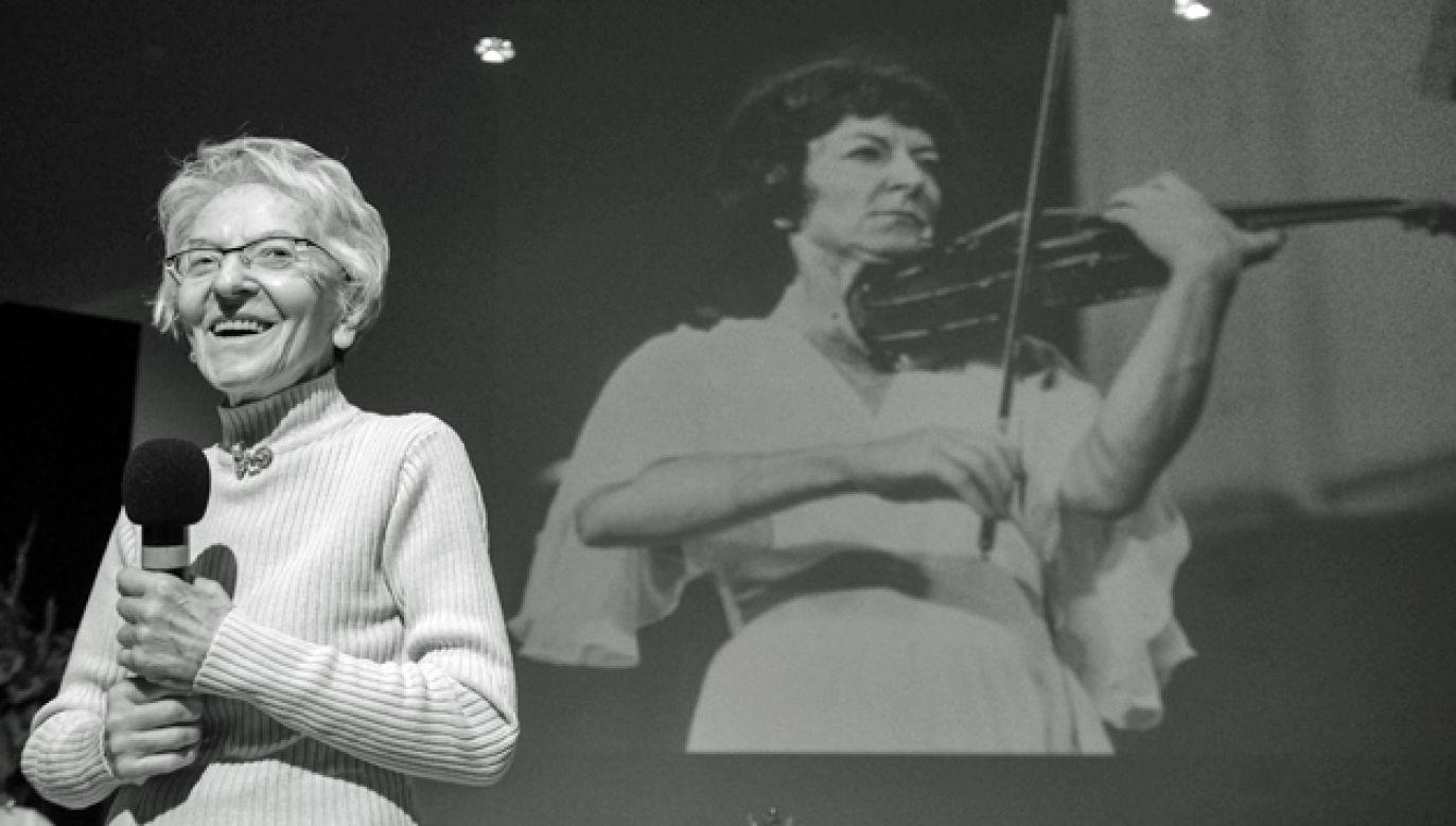 Wanda Wiłkomirska koncertowała na pięciu kontynentach, dając recitale i grając z czołowymi orkiestrami (fot. PAP/ Jakub Kamiński)
