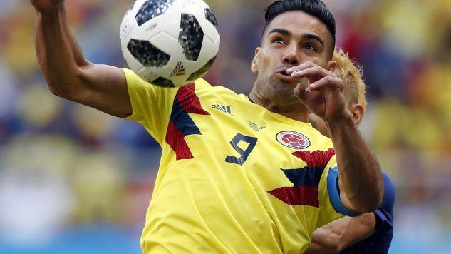 Falcao to jedna z największych gwiazd reprezentacji Kolumbii (fot. PAP/EPA)