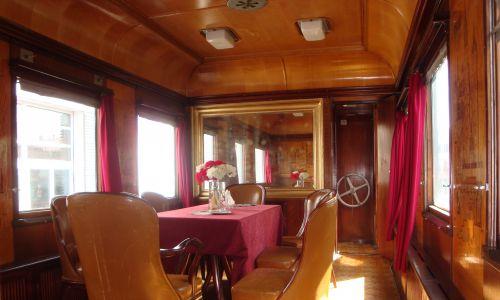 Wagon Ashx01, czyli tzw. salonka Bieruta. Sierpień 2014 r. Fot. Wikimedia/Travelarz
