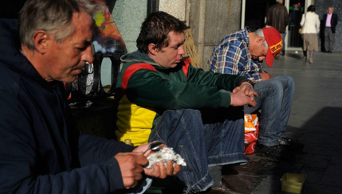 Homeless Poles. Photo: GettyImages.com/Denis Doyle