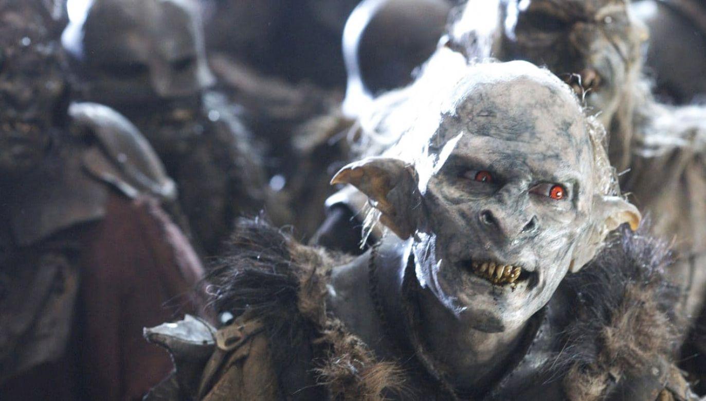 Orkowie,  wojownicy zła w powieściach Tolkiena.  Walczyli  dla Morgotha, Saurona, Czarnoksiężnika z Angmaru i Sarumana (fot. Materiały prasowe)