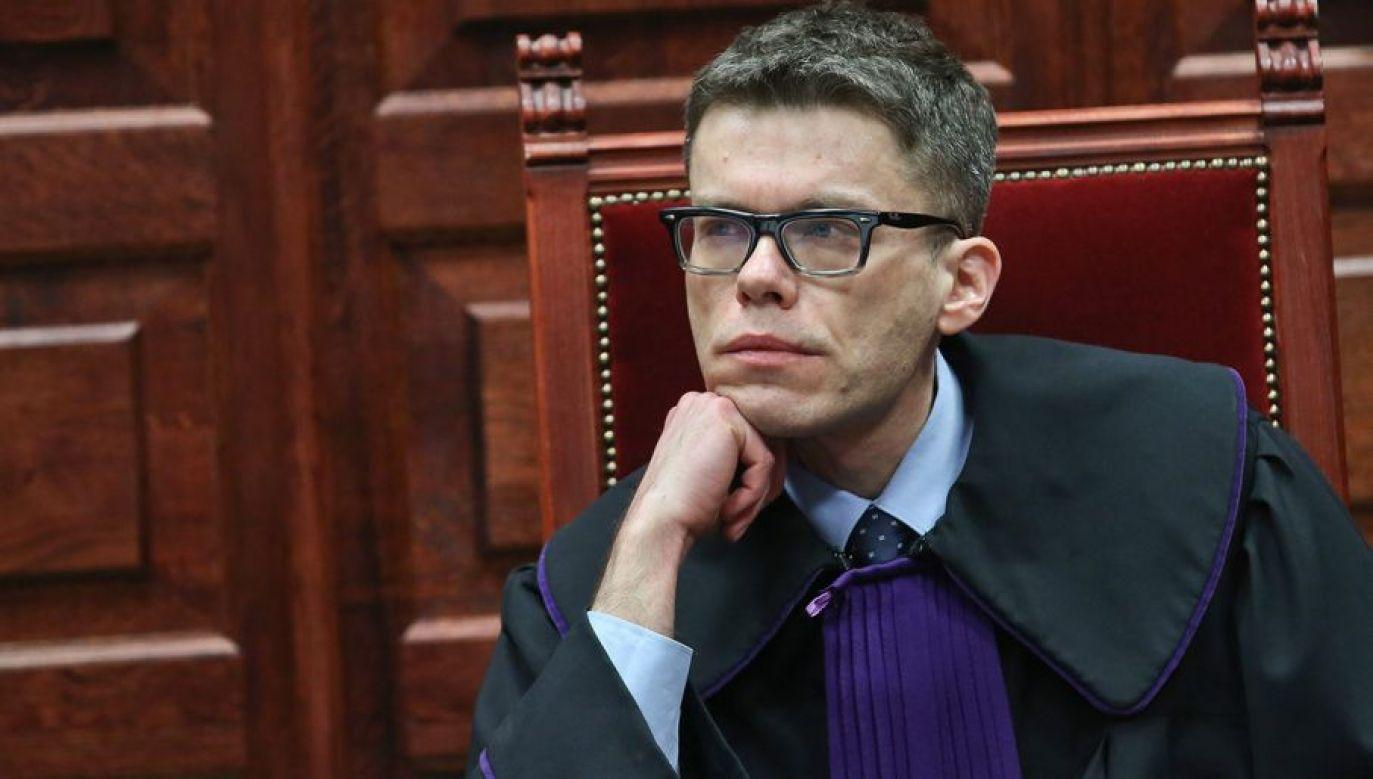 Sędzia Tuleya prosi sędzię Gersdorf, żeby przykuła się do biurka (fot. arch.PAP/Rafał Guz)