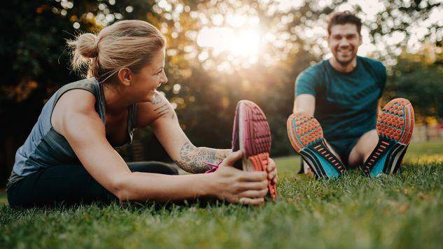 Wysiłek fizyczny pomaga w zachowaniu dobrego nastroju (fot. Shutterstock/Jacob Lund)