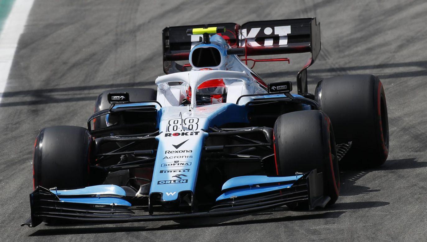 Robert Kubica z zespołu Williams podczas sesji treningowej przed Grand Prix Hiszpanii (fot. Eric Alonso/MB Media/Getty Images)