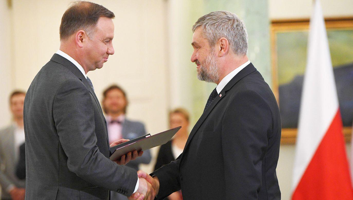 Jan Krzysztof Ardanowski będzie 17. ministrem rolnictwa po 1989 roku (fot. PAP/Radek Pietruszka)