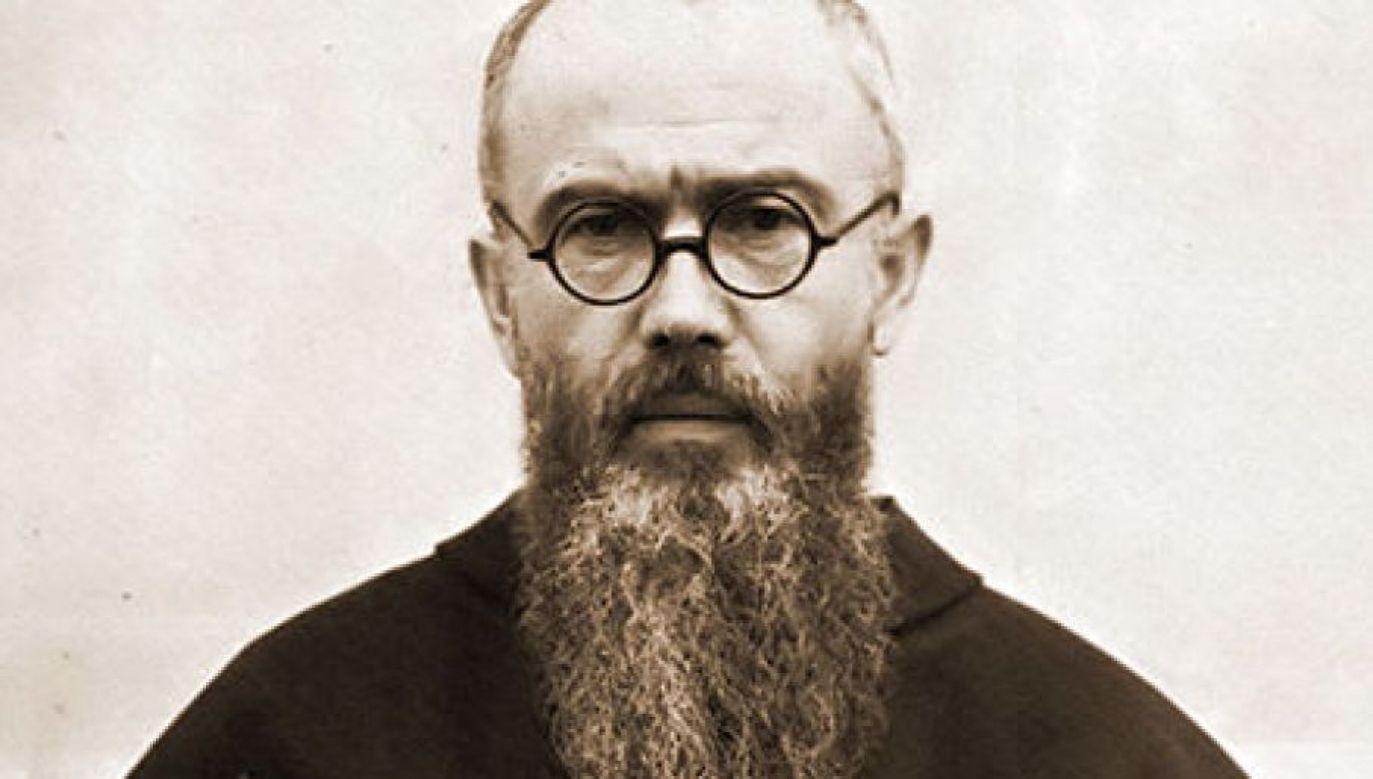 Św. Maksymilian Kolbe (fot. Wikipedia)