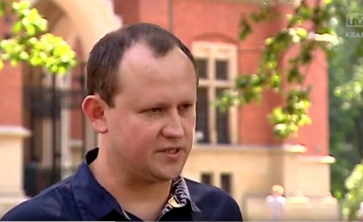 Dr Jarosław Duda (fot. TVP3 Kraków)