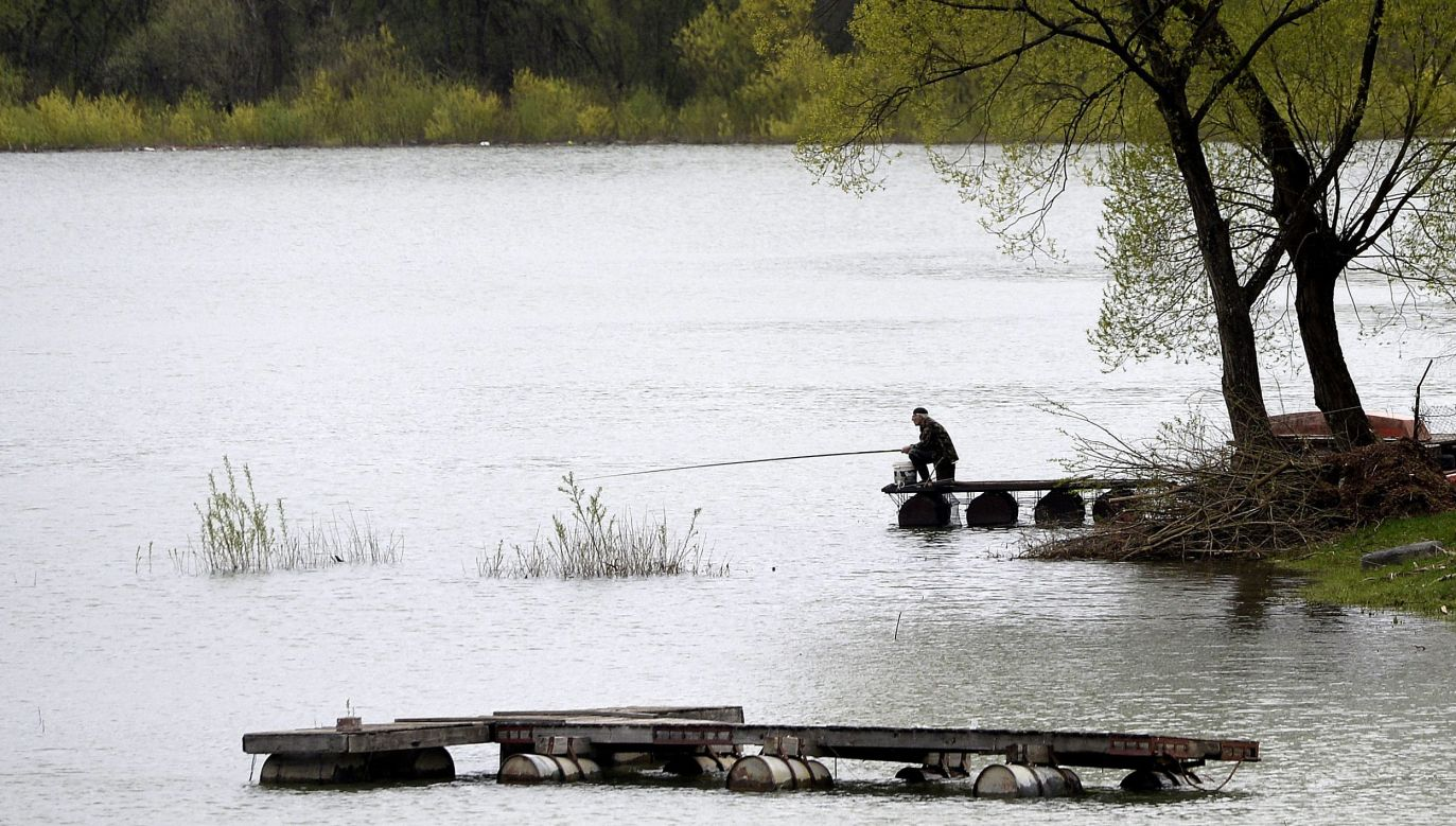 60-letni wędkarz nie przeżył (fot. arch. PAP/Darek Delmanowicz)