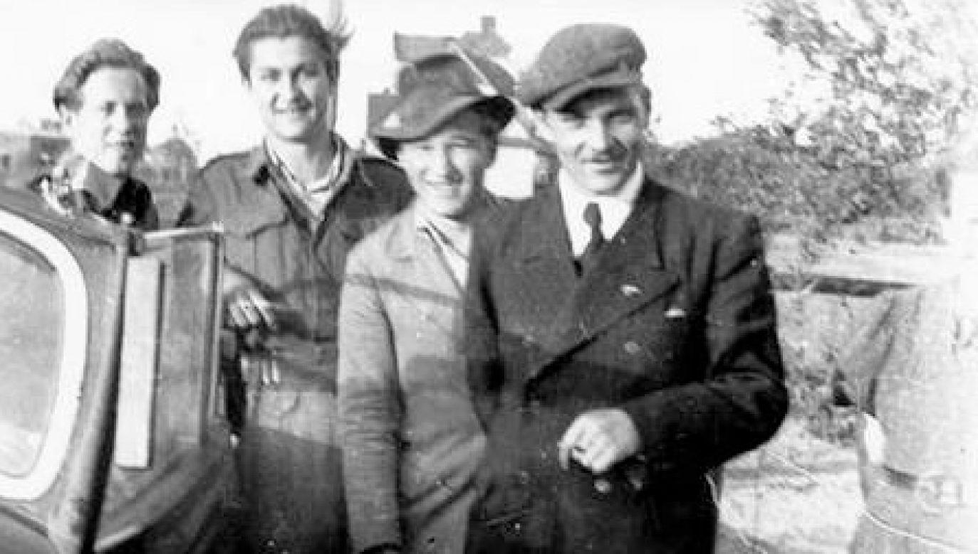 Henryk Flame, zdjęcie wykonane po amnestii w 1947 (fot. Wikipedia)