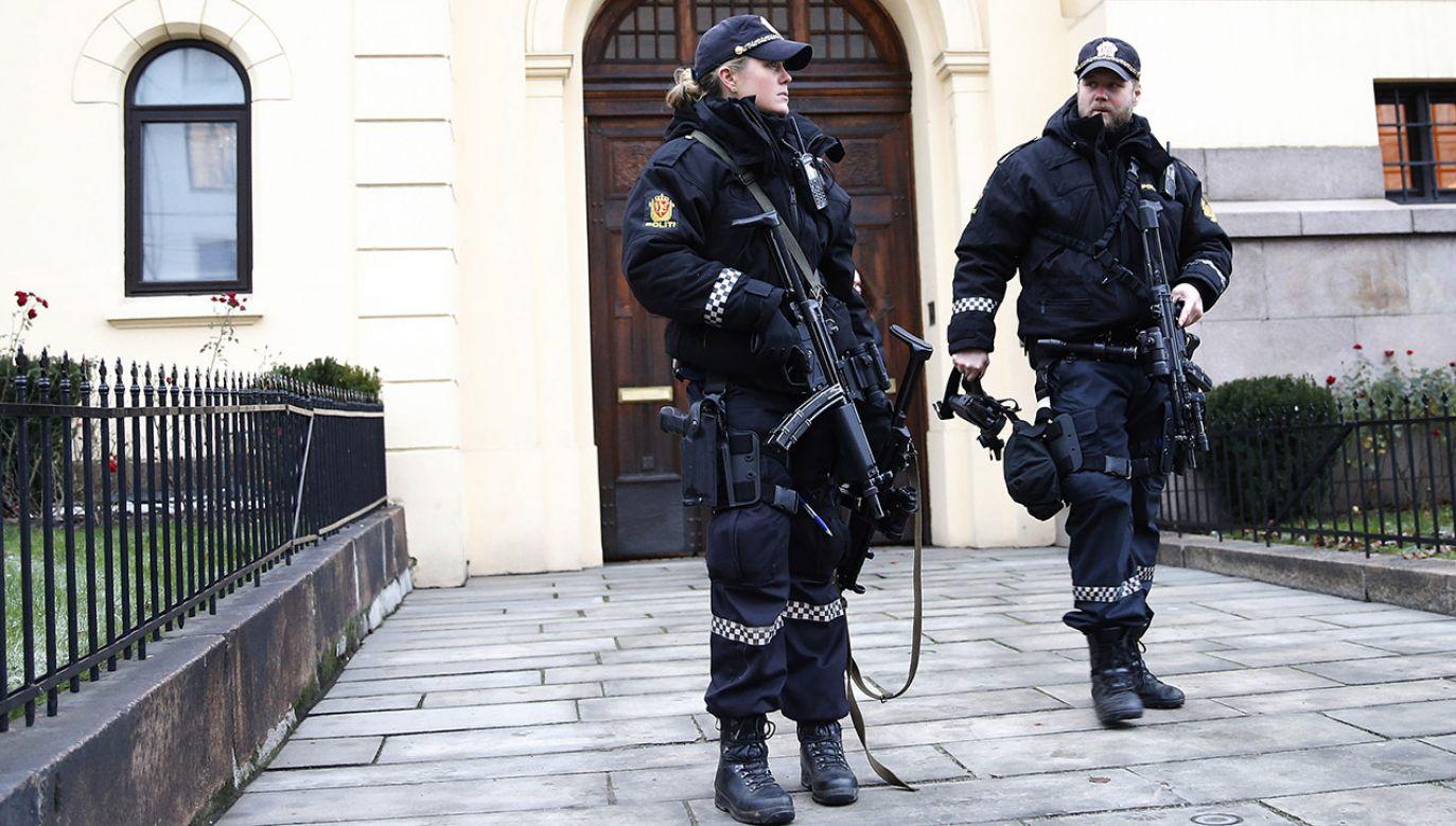 Policja zatrzymała sprawcę tuż po ataku (fot. REUTERS/Suzanne Plunkett)