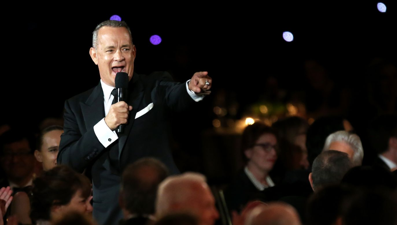 Amerykański aktor, reżyser i producent filmowy – Tom Hanks (fot. Frederick M. Brown/Getty Images)