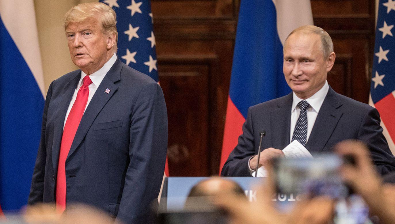 Pojawiają się nowe szczegóły dot. szczytu w Helsinkach (fot. Chris McGrath/Getty Images)