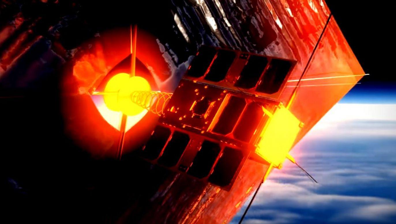 Koszt umieszczenia satelity na orbicie, który wyniósł 135 tys. euro, pokryło Ministerstwo Nauki i Szkolnictwa Wyższego (fot. pw-sat.pl)