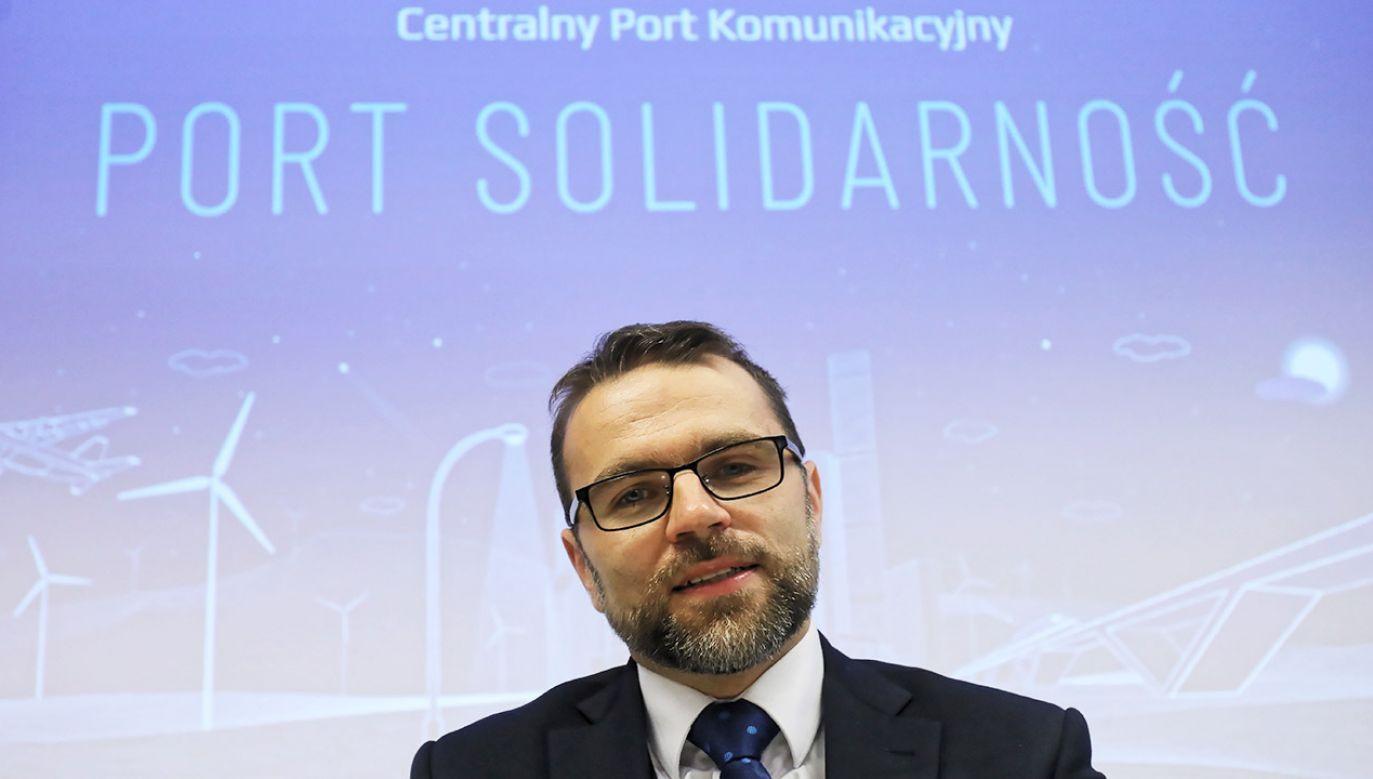 Jacek Bartosiak zrezygnował z powodów osobistych (fot. arch.PAP/Paweł Supernak)