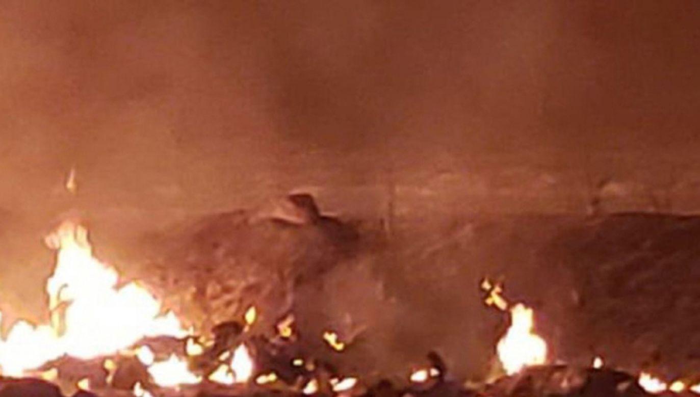Do eksplozji doszło w miejscowości Tlahuelilpan w stanie Hidalgo (fot. PAP/EPA/STR /REM)